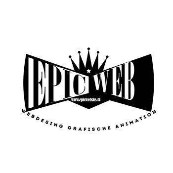dit is een logo van epicwebsite webdesigner